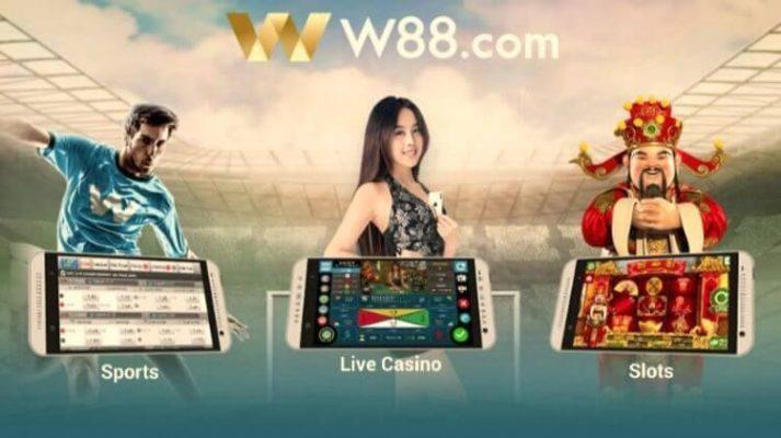 nhà cái w88 đa dạng các game cá cược