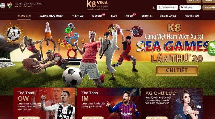 TOP 10 trang nhà cái cá cược uy tín số 1 Việt Nam và Châu Á k8