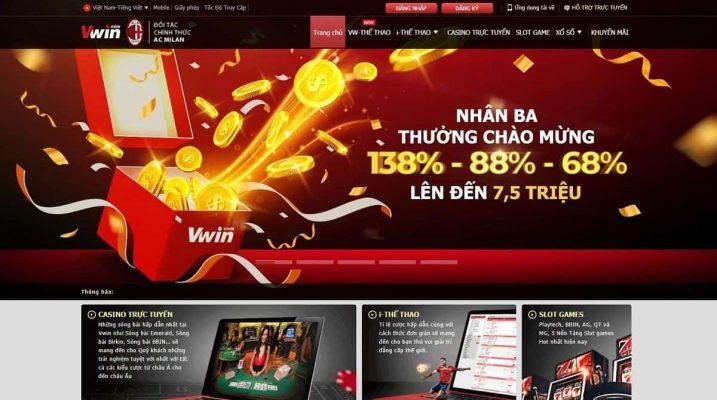 TOP 10 trang nhà cái cá cược uy tín số 1 Việt Nam và Châu Á vwin