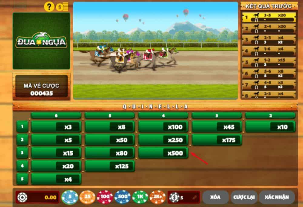 hướng dẫn chơi đua ngựa ăn xu tại w88