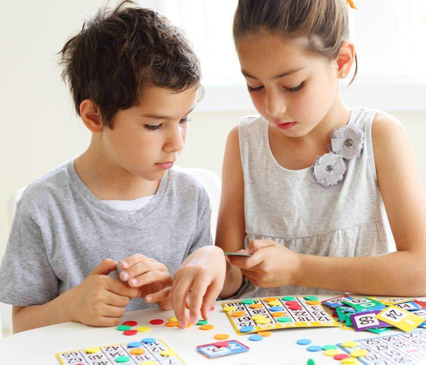 lọi ích khi chơi bingo với trẻ em