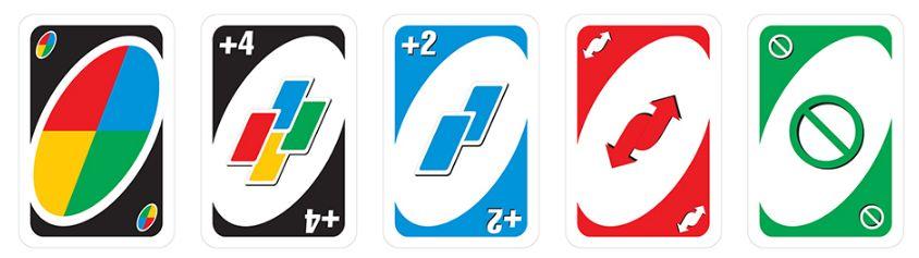 các lá bài đặc biệt trong bộ bài uno