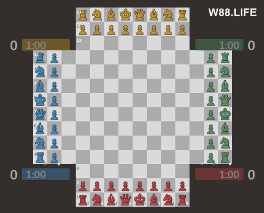 cờ vua 4 người biến thể