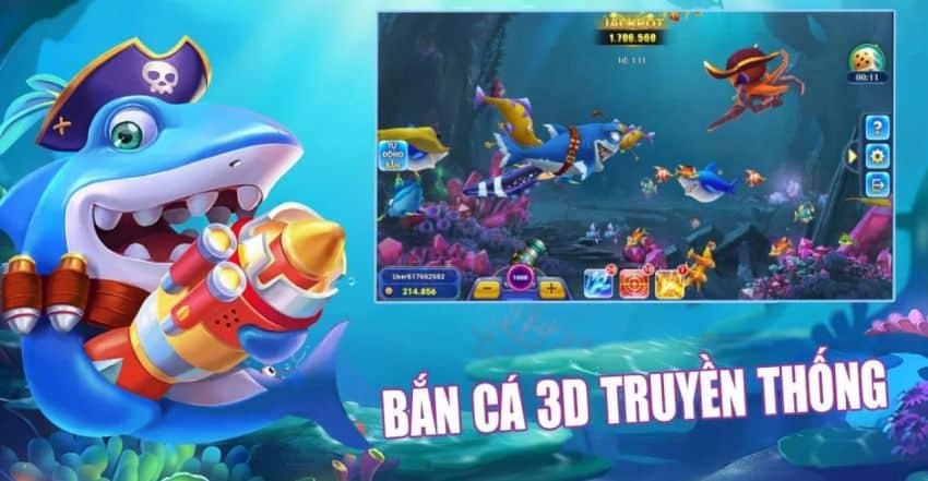 bắn cá 3d