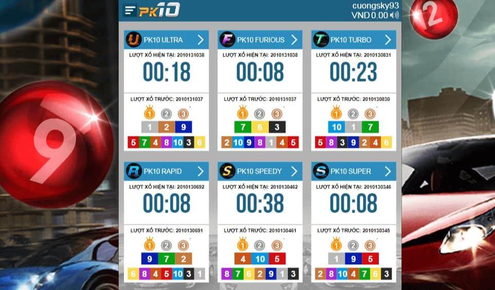 cách chơi cá cược game đua xe online tại w88