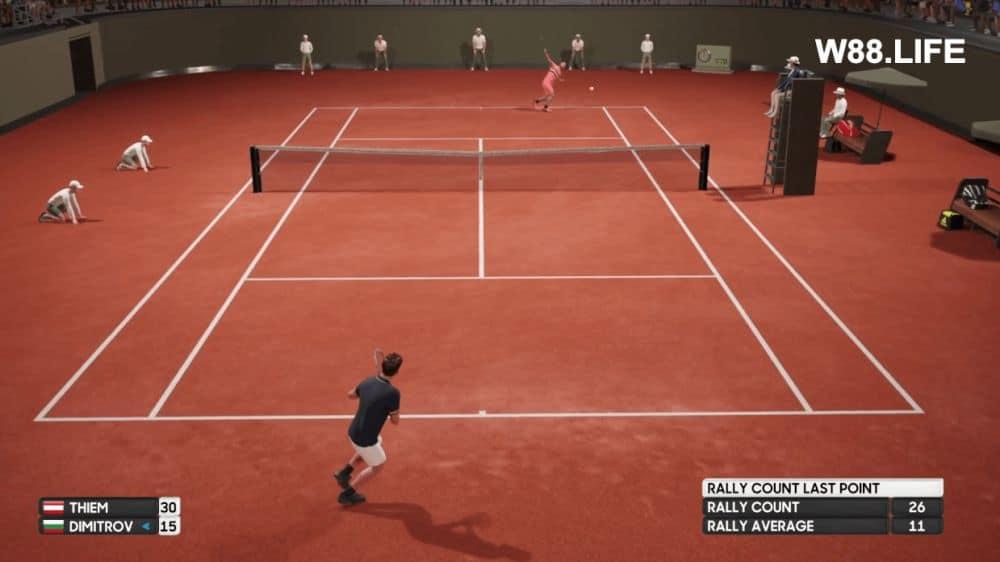 cách tính điểm tennis quần vợt