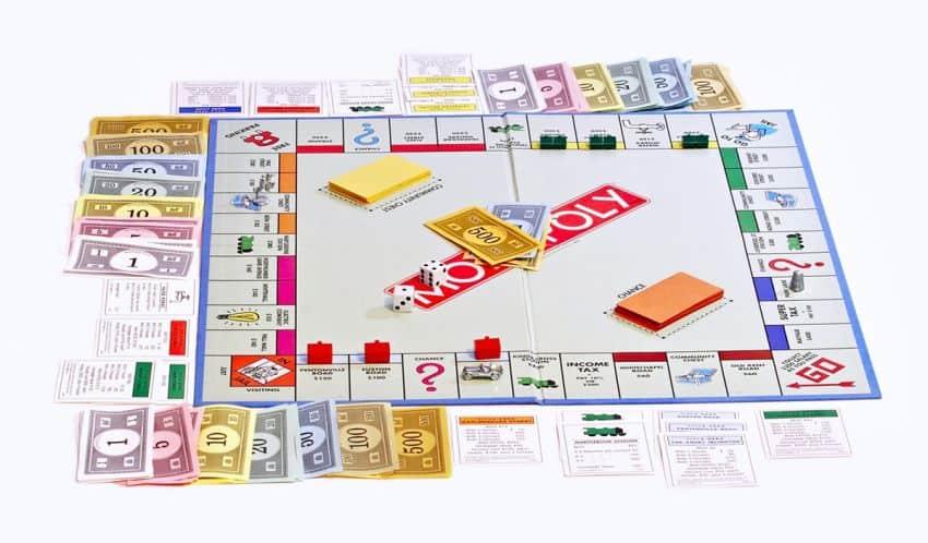 bộ cờ tỷ phú monopoly