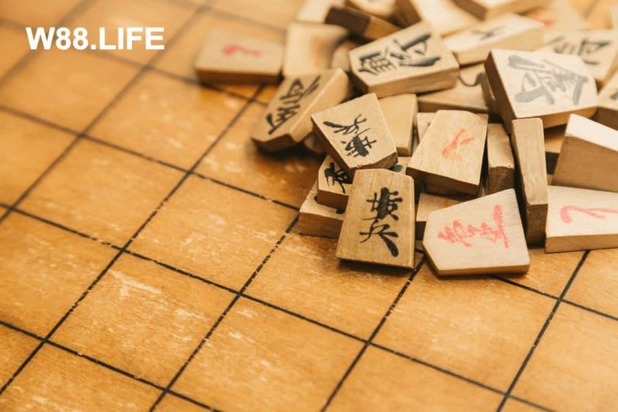 các quân cờ shogi