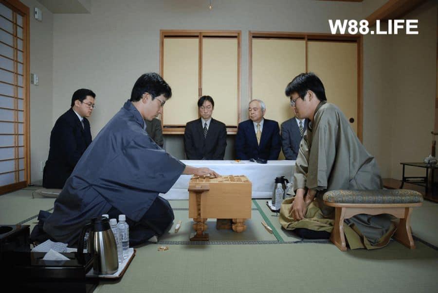 hệ thống phân cấp cờ shogi