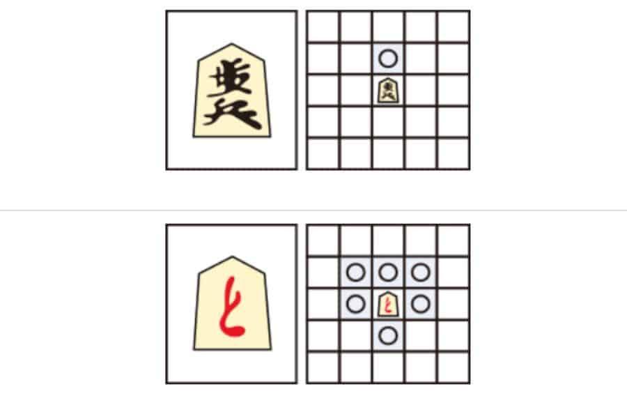 quân tốt trong cờ shogi