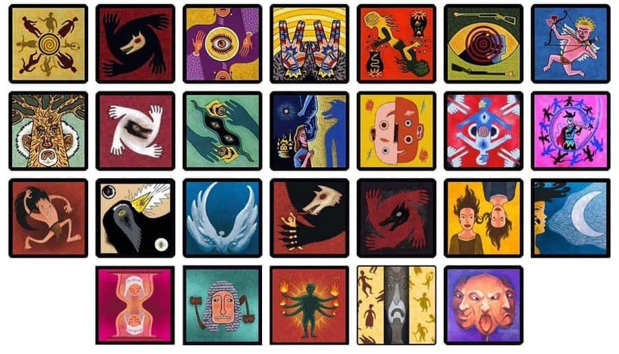các lá bài trong game ma sói