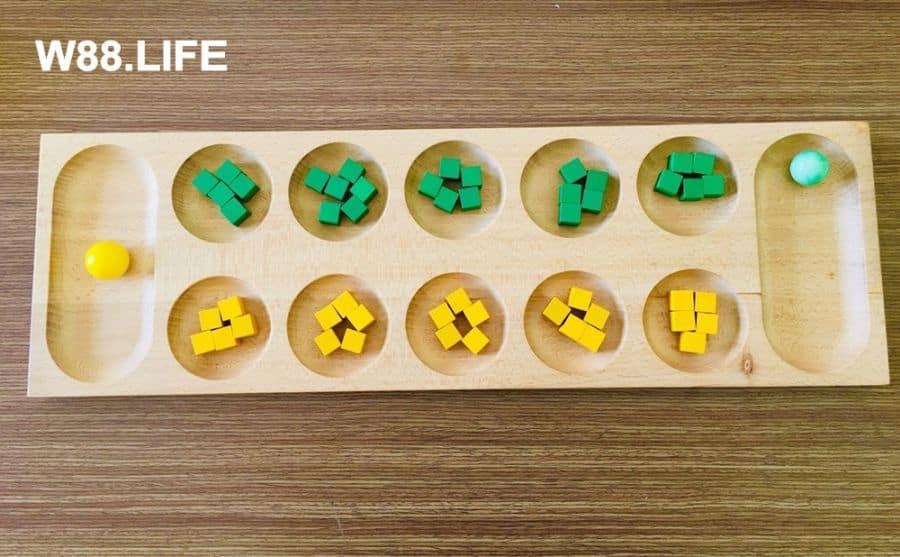 cách chơi game ô ăn quan