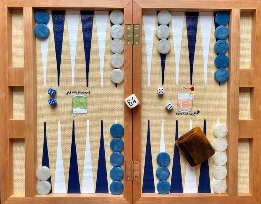 cách chơi game backgammon