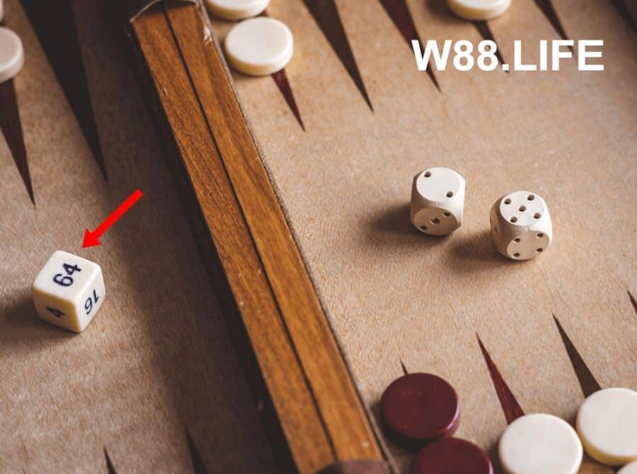khối lập phương game cờ backgammon