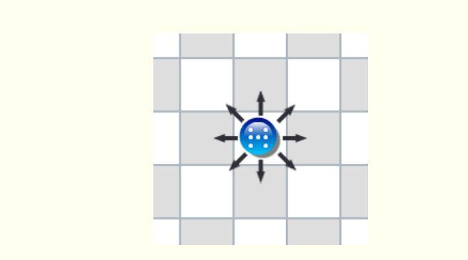 cách di chuyển cờ toán