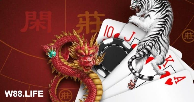 Hướng dẫn cách chơi rồng hổ online (Dragon Tiger) tại W88