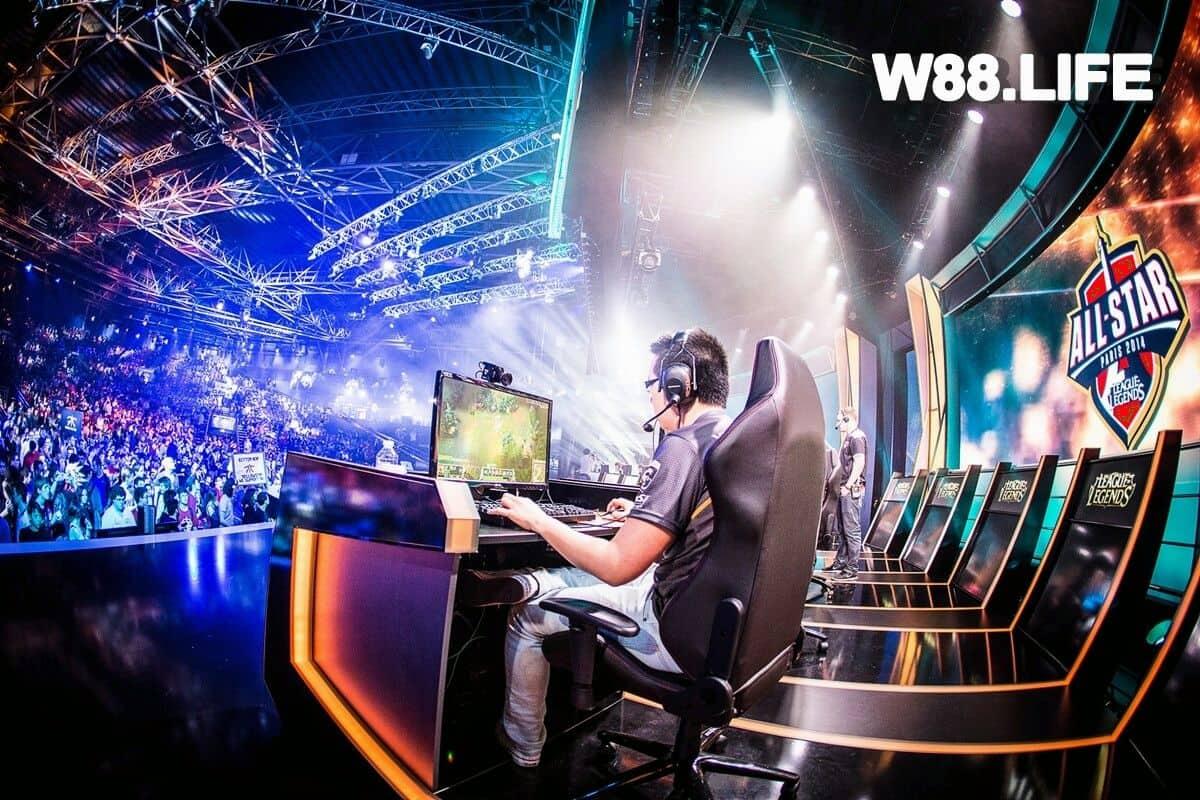 Hướng dẫn cách đặt cược Thể Thao Điện Tử e-Sport tại W88