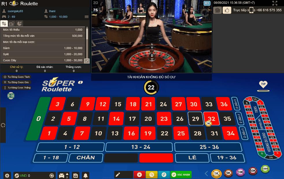 Roulette là gì? Hướng dẫn cách chơi trò Roulette hay tại W88
